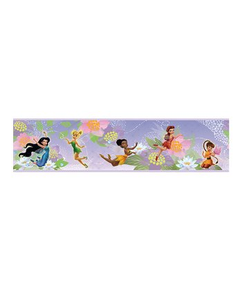 Disney Fairies Peel & Stick Wall Decal Border