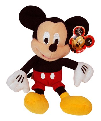 Black & Red Mickey Plush