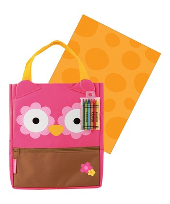 Owl Art Tote Bag Set