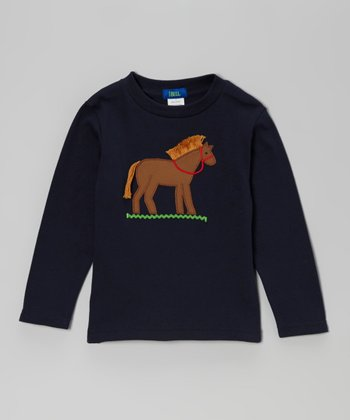 Black Horse Tee - Infant, Toddler & Boys