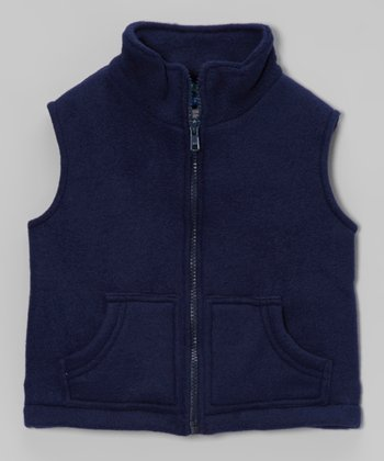 Blue Fleece Vest - Infant, Toddler & Boys