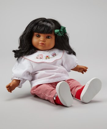 Red & White Outfit & Kate Doll