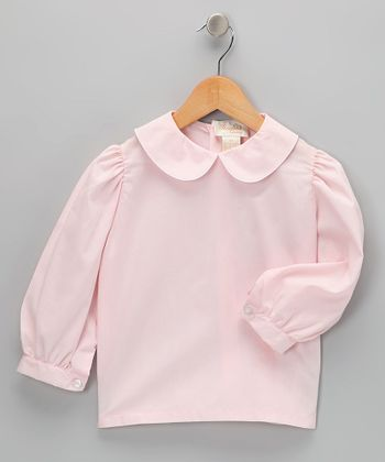 Pink Long Sleeve Shirt - Infant, Toddler & Girls