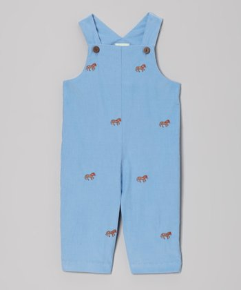 Blue Horse Overalls - Infant & Toddler