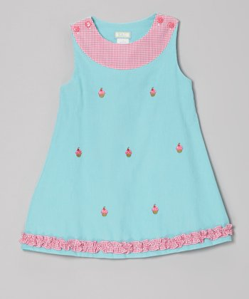 Blue Cupcake Ruffle Jumper - Infant, Toddler & Girls