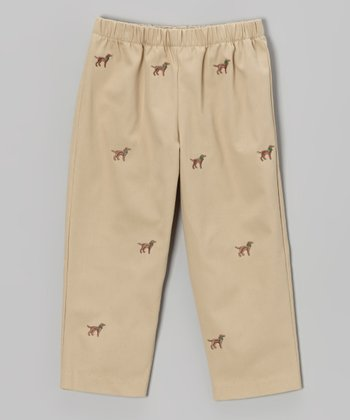Khaki Labrador Pants - Infant, Toddler & Boys