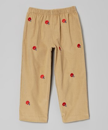 Brown Helmet Pants - Infant, Toddler & Boys