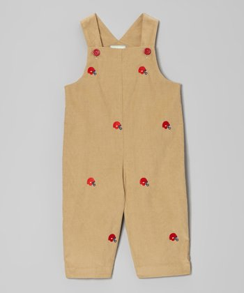 Brown Helmet Overalls - Infant & Toddler