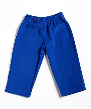 Royal Blue Corduroy Pants - Infant, Toddler & Boys