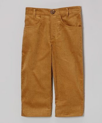Tan Corduroy Pants - Infant & Toddler