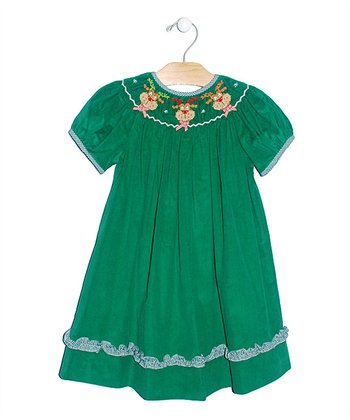 Green Rudolph Bishop Dress - Infant, Toddler & Girls