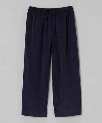 Navy Corduroy Pants - Infant, Toddler & Boys