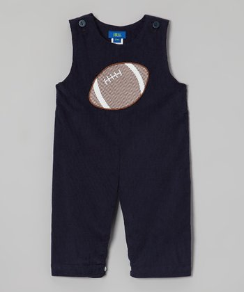Navy Football Overalls - Infant & Toddler