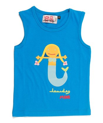 Turquoise Mermaid Tank - Infant & Girls