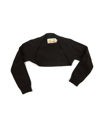 Black Rebeca Bolero - Infant & Girls