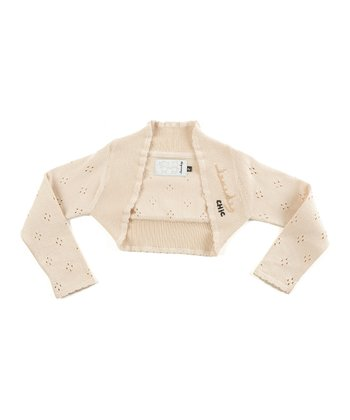 Ivory Voyage Bolero - Toddler & Girls