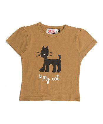 Tan Jungle Tee - Infant, Toddler & Girls