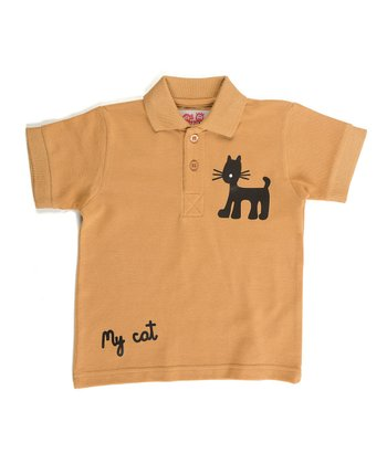 Tan Jungle Polo - Infant, Toddler & Boys