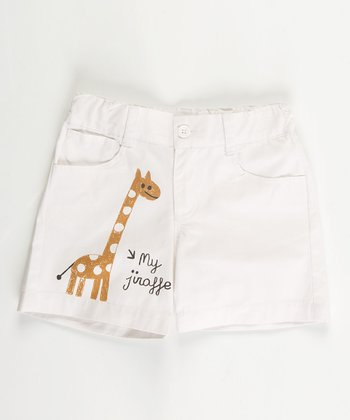 White Jungle Shorts - Infant, Toddler & Boys