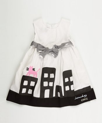 White Paris Dress - Infant, Toddler & Girls