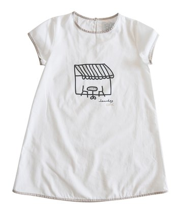 White Voyage Dress - Infant, Toddler & Girls