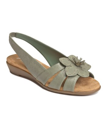 Light Green Combo Bobcat Slingback Sandal