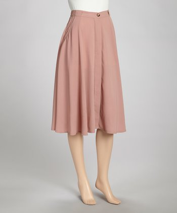 Rose A-Line Skirt - Women