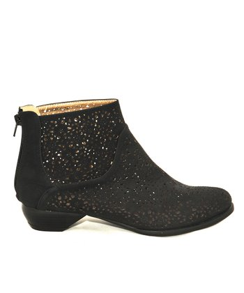 Black Esther Bootie