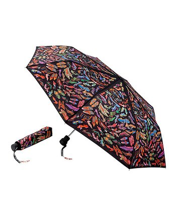 Black Stepping Out Umbrella