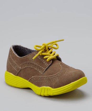Brown & Yellow Match Sneaker