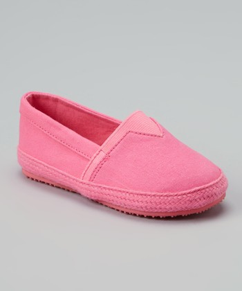 Fuchsia Slip-On Shoe