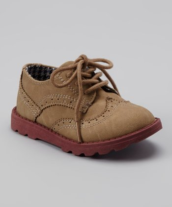 Khaki Scope Oxford