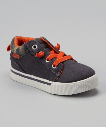 Gray & Orange Ultima Sneaker