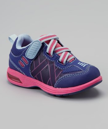 Fuchsia & Lilac Light-Up Rival Sneaker