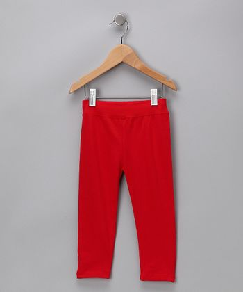 Red Leggings - Infant