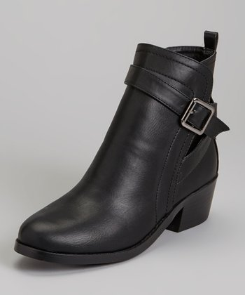 Black Maxima Ankle Boot