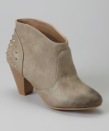 Gray Katya Ankle Boot