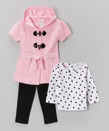 Pink Cardigan Set - Infant