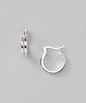 Sterling Silver Small Huggie Earrings