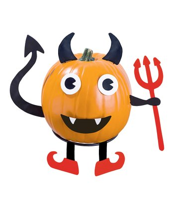 Devil Pumpkin Patch Figurine