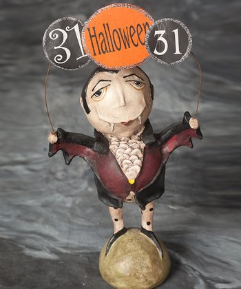 Count of Halloween Figurine