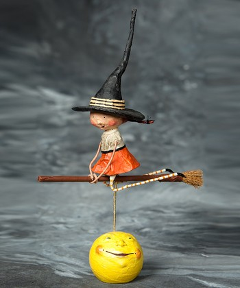 Becca's Broom Ride Figurine