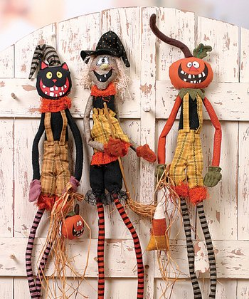 Halloween Hanging Figurine Set