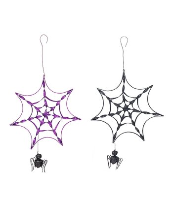Spider Web Metal Hanging Set