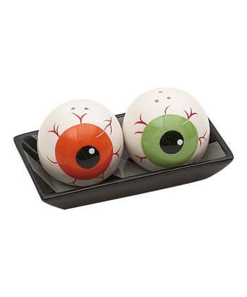 Eyeball Salt & Pepper Shaker Set