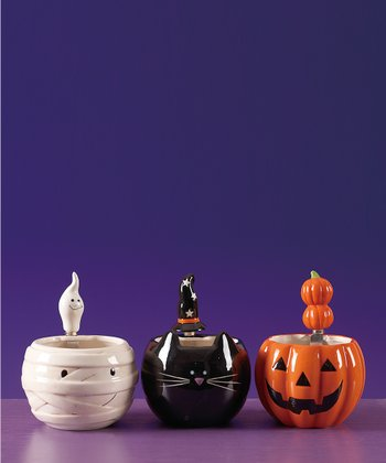 Halloween Bowl & Spreader Set