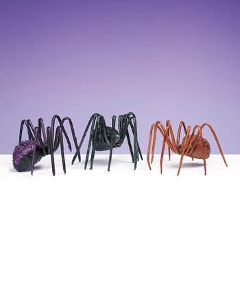 Small Halloween Spider Set