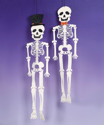 Felt Hanging Skeleton Set