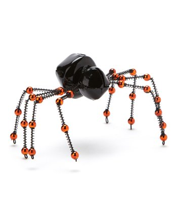 Black & Orange Spider Bell