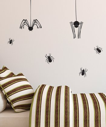 Spider Wall Decal Set